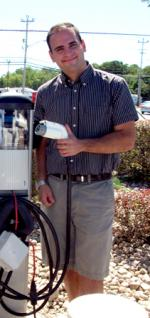 Zach Heir , a recent hire in the electric vehicle field