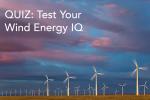 Quiz: Test Your Wind Energy IQ