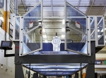 A view of the Big Area Additive Manufacturing machine that will 3D print molds used to manufacture wind turbine blades. Photo courtesy of Oak Ridge National Laboratory.