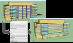 Screenshots of the OpenStudio platform.