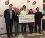 Aerospec Technologies from Northwestern University took home the top $50,000 prize at Clean Energy Trust's 2018 Cleantech University Prize (Cleantech UP) showcase.