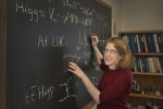 Sally Dawson is an award-winning theoretical physicist seeking to better understand one of the most elusive particles in the universe. | Photo courtesy of Brookhaven National Laboratory.