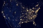 The United States at night. | Photo courtesy of NASA's Goddard Space Flight Center.