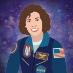 "Astronaut Ellen Ochoa is our fourth and final woman in STEM #ThrowbackThursday for 2016. | Illustration by <a href=""/node/1332956/"">Carly Wilkins, Energy Department</a>."