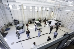 Researchers at the National Renewable Energy Lab showcase innovation at their Vehicle Testing and Integration Facility. | Photo Courtesy of NREL.