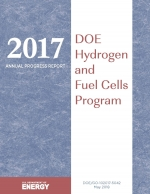 Cover of DOE Hydrogen and Fuel Cells Program 2017 Annual Progress Report