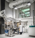 Inside the lab of Fraunhofer Center for Sustainable Energy Systems (CSE) in Boston, MA<br /> Photo Courtesy of Fraunhofer CSE, Photo Credit: Trent Bell