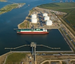 Golden Pass LNG terminal. Photo courtesy of Golden Pass