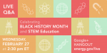 Join our Google+ Hangout on increasing diversity in science, technology, engineering & math disciplines. | Infographic by Sarah Gerrity.