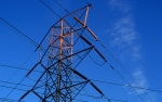 Image of a power line pylon