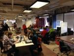 Designers hard at work turning energy data into useful apps in Washington D.C. January 25