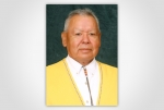 """Harold """"Gus"""" Frank, Forest County Potawatomi Community Chairman and 2012 White House """"Champion of Change"""". Photo from Potawatomi Traveling Times"""