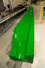 Energetx Composites was able to purchase equipment such as this mold for utility-scale wind turbine blades thanks to a Recovery Act grant that matched the company's $3.5 million investment. | Photo Courtesy of Energetx |