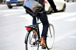 Biking to work helps you get some exercise while reducing your carbon footprint. | Photo courtesy of iStockphoto.com/olaser