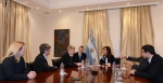 Deputy Energy Secretary Daniel Poneman, third from left, meets with Argentinian President Cristina Fernández de Kirchner in Argentina on May 22, 2014.   Photo courtesy of the U.S. State Department.