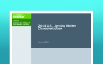 Thumbnail image of the 2015 Lighting Market Characterization cover.