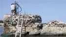 Samples from this Ancient Roman pier, Portus Cosanus in Orbetello, Italy, were studied with X-rays at Berkeley Lab.