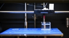 Squeezing liquid from a needle, and placing threads of water anywhere in three dimensions.
