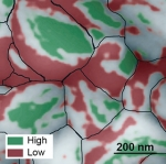 Nearly Ideal  Performing Regions in Perovskite Films Could Boost Solar Cells