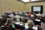 """The DOE Office of Indian Energy Tribal Leader Forum on """"Leveraging Tribal Renewable Resources to Support Military Energy Goals"""" was held May 30–31 in Phoenix, Arizona. Photo by Brooke Oleen Tieperman, NCSL."""