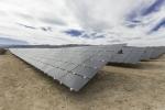 Photo of Moapa's solar panels.