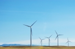 Americans' use of wind energy -- like that produced at this wind farm in Montana -- grew by 18 percent in 2013 over the previous year. | Photo courtesy of Free Images.
