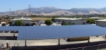 "A portion of the new 141 kilowatt solar photovoltaic energy system at Monterey County's Laurel Yard Complex in Salinas, California. The system is expected to save the county thousands of dollars a year in energy costs. <a href=""http://energy.gov/sites/prod/files/monterey-california-solar-array-panorama.jpg"">Click here</a> to see a panoramic view of the entire solar array. 