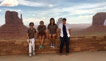 Monument Valley. Sandra Begay, Diana Fuller, Rachael Gutierrez, Kimberlynn Cameron