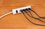 Using a power strip to turn off electronics and appliances when they aren't in use ensures that they are truly off and not using extra electricity. | Photo courtesy of ©iStockphoto.com/DonNichols.