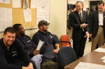 Secretary Chu meets with Pepco line workers in Maryland on November 1, 2012. | Photo by Sarah Gerrity