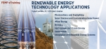 """Free, online training courses on <a href=""""https://www4.eere.energy.gov/femp/training/?keyword=&series[0]=93"""">Renewable Energy Technology Applications</a> are available through the Federal Energy Management Program."""