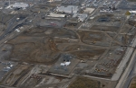 An aerial view of Hanford's 300 Area North Section following completion of cleanup.