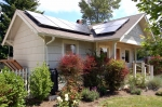 Solar powered homes are becoming more common--and affordable--thanks to the work of the SunShot Initiative and federal employees like Ebony Vauss. Photo: Brothers Electric