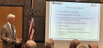 Steve Simonson, Director of the Office of Enforcement, addresses the 2014 DOE Safety and Security Enforcement Workshop attendees.