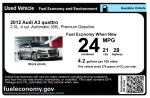 FuelEconomy.gov's newest tool -- the Used Car Fuel Economy Label -- makes it easier for consumers to compare used cars, select the most fuel-efficient model and save money at the pump.   Photo by the Energy Department.