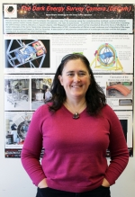 Brenna Flaugher is a Scientist II and department head of astrophysics in the Particle Physics Division of Fermi National Accelerator Laboratory (Fermilab). She attended Bates College in Lewiston, Maine, and earned a Ph.D from Rutgers, The State University of New Jersey.