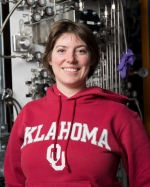 Mandy Rominsky is an applications physicist / Fermilab Test Beam Facility coordinator at Fermi National Accelerator Laboratory (Fermilab). She attended New Mexico Institute of Mining and Technology, where she earned a bachelor of science degree in physics, and the University of Oklahoma, where she earned a Ph.D in physics.