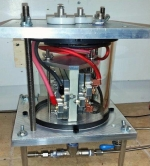 Xergy Inc. and an industrial partner are collaborating on a hybrid water heater that incorporates an Xergy-developed electrochemical compressor. Image: Xergy, Inc.