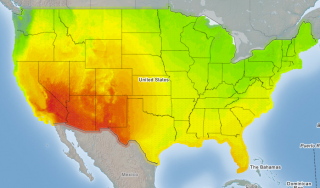 Solar Energy Potential Department Of Energy - Us solar map