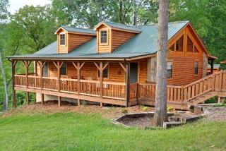 Energy efficiency in log homes department of energy for Energy efficient cabin