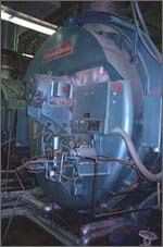Photo of new boiler at Kodiak Island facility