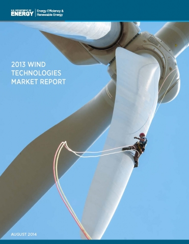 A thumbnail of the 2013 Wind Technologies Market Report Cover