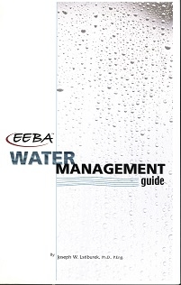 Cover of the EEBA Water Management Guide.