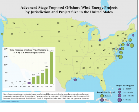 Advanced Stage Proposed Offshore Wind Projects 2014.png