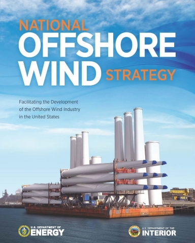 Cover of the offshore strategy report.