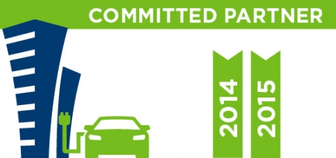Worplace Charging Challenge Committed Partner - 2014 and 2015