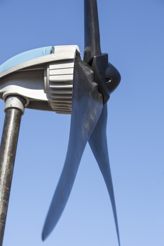 Pika's Injection Molded Blades on their T701 Wind Turbine