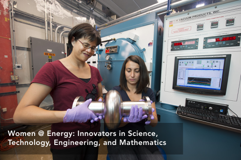 Women at Energy: 2 Innovators in Science, Technology, Engineering and Mathmatics