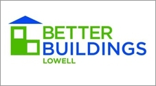 Better Buildings Lowell logo.