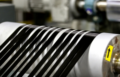 Carbon fiber has the potential to reduce passenger car weight by half.  Photo courtesy of Oak Ridge National Laboratory